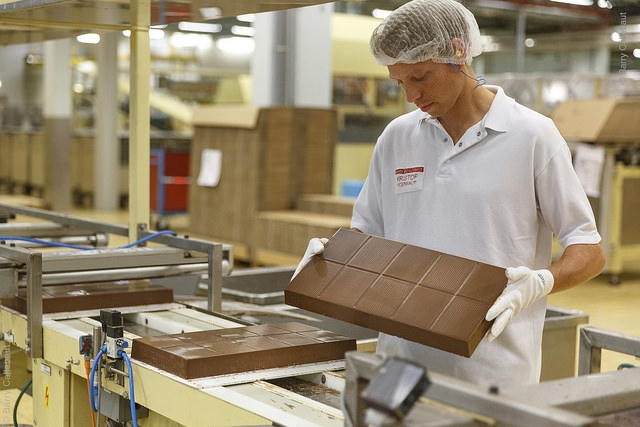 Largest Chocolate Factory in the World Barry Callebaut Chocolates 17