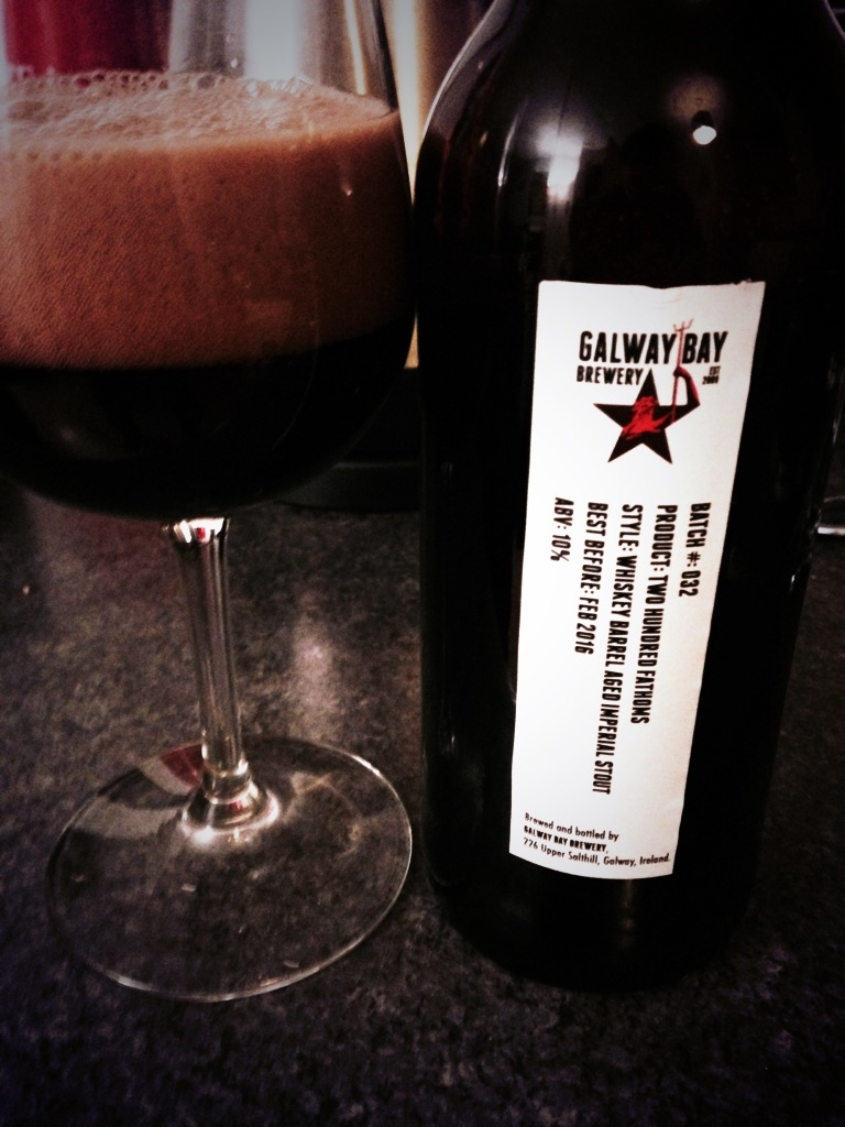 Irish Beers 2015 Two Hundred Fathoms Galway Bay Brewery