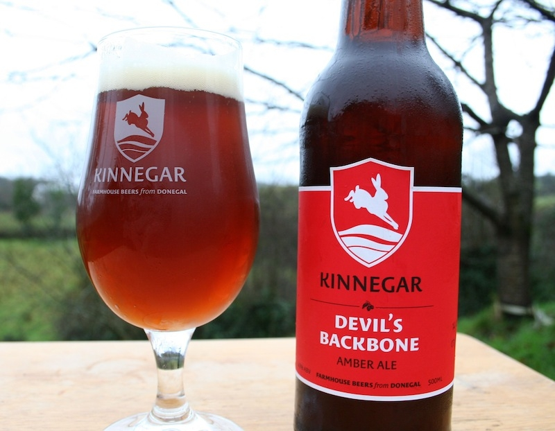Irish Beers 2015 Devils Backbone Kinnegar Brewing
