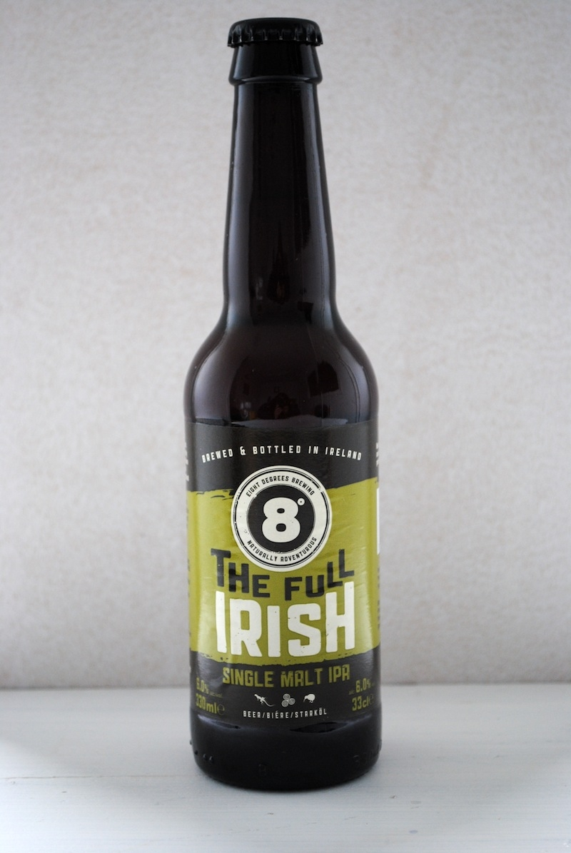 Irish Beers 2015 The Full Irish Eight Degrees Brewing