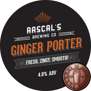 Irish Beers 2015 Ginger Porter Rascals Brewing Co