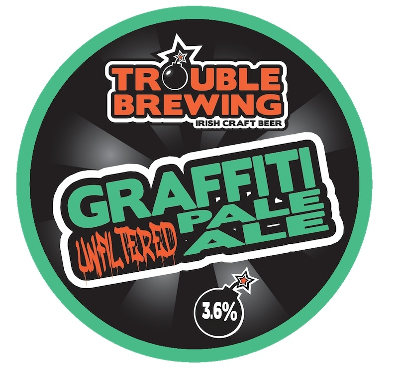 Irish Beers 2015 Graffiti Trouble Brewing