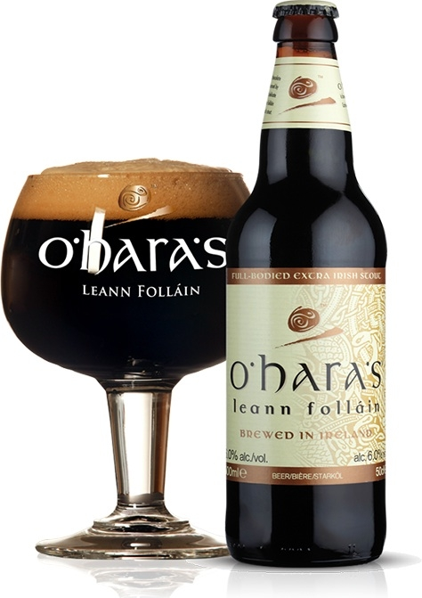 Irish Beers 2015 oharas leann follain Carlow Brewing Company