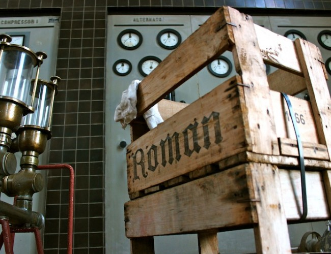Old Roman Crate