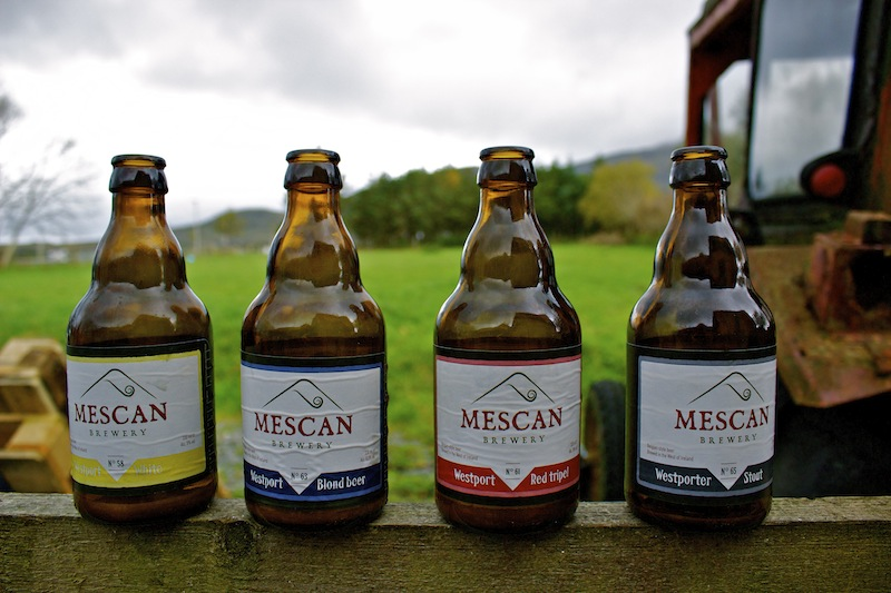 Mescan Brewery Crafts Belgian Style Beer By Croagh Patrick